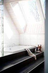 takfönster i badrum